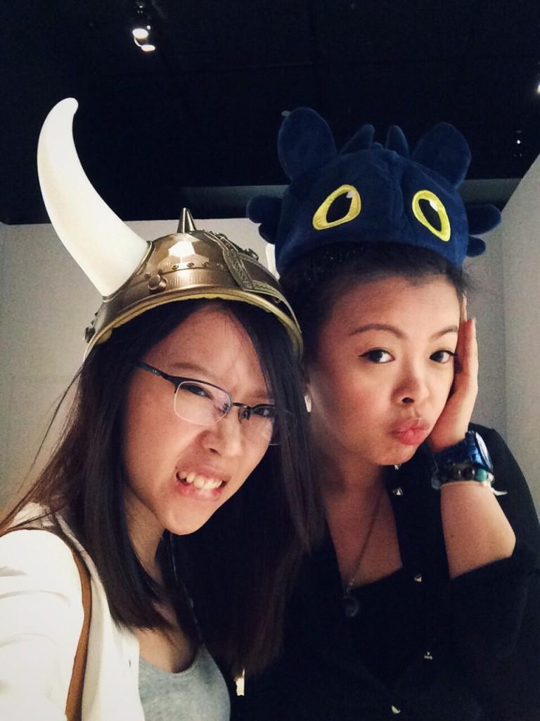 Diana & Xin Yi at Dreamworks