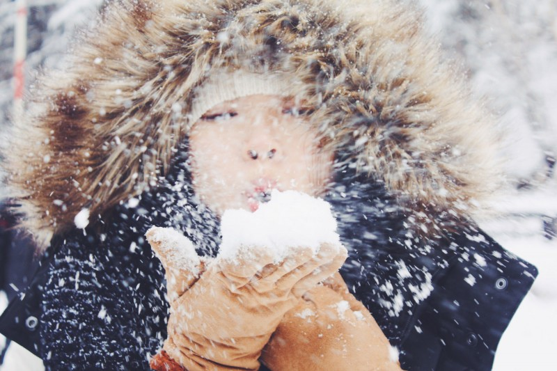 Snow-blowing