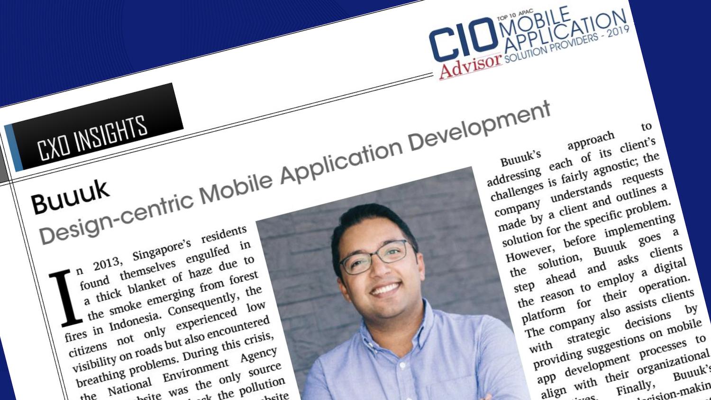CIO Adviser Top 10 Mobile Solutions