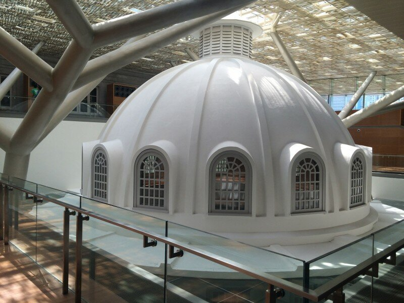 Rotunda Dome roof 800x600
