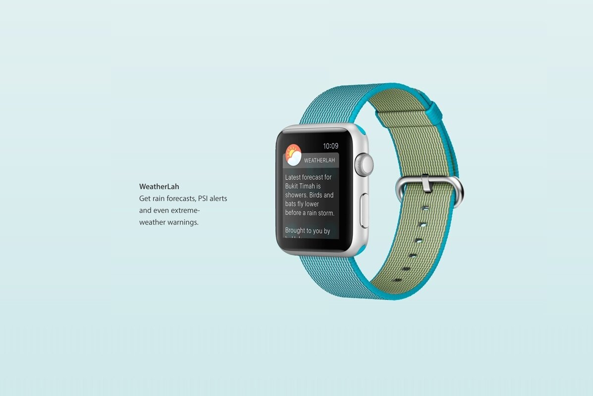 Weatherlah Apple Watch