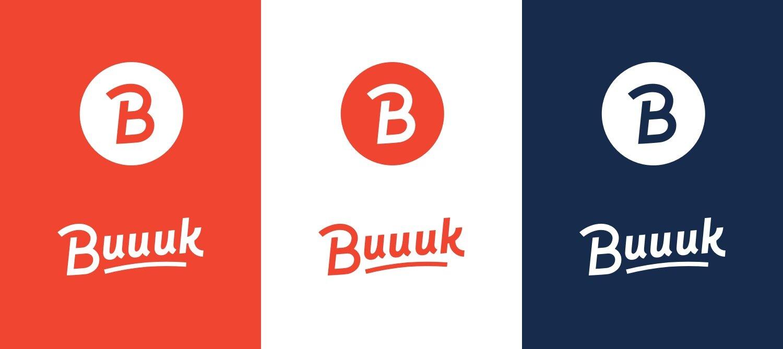 Buuuk Logo Variations with bg