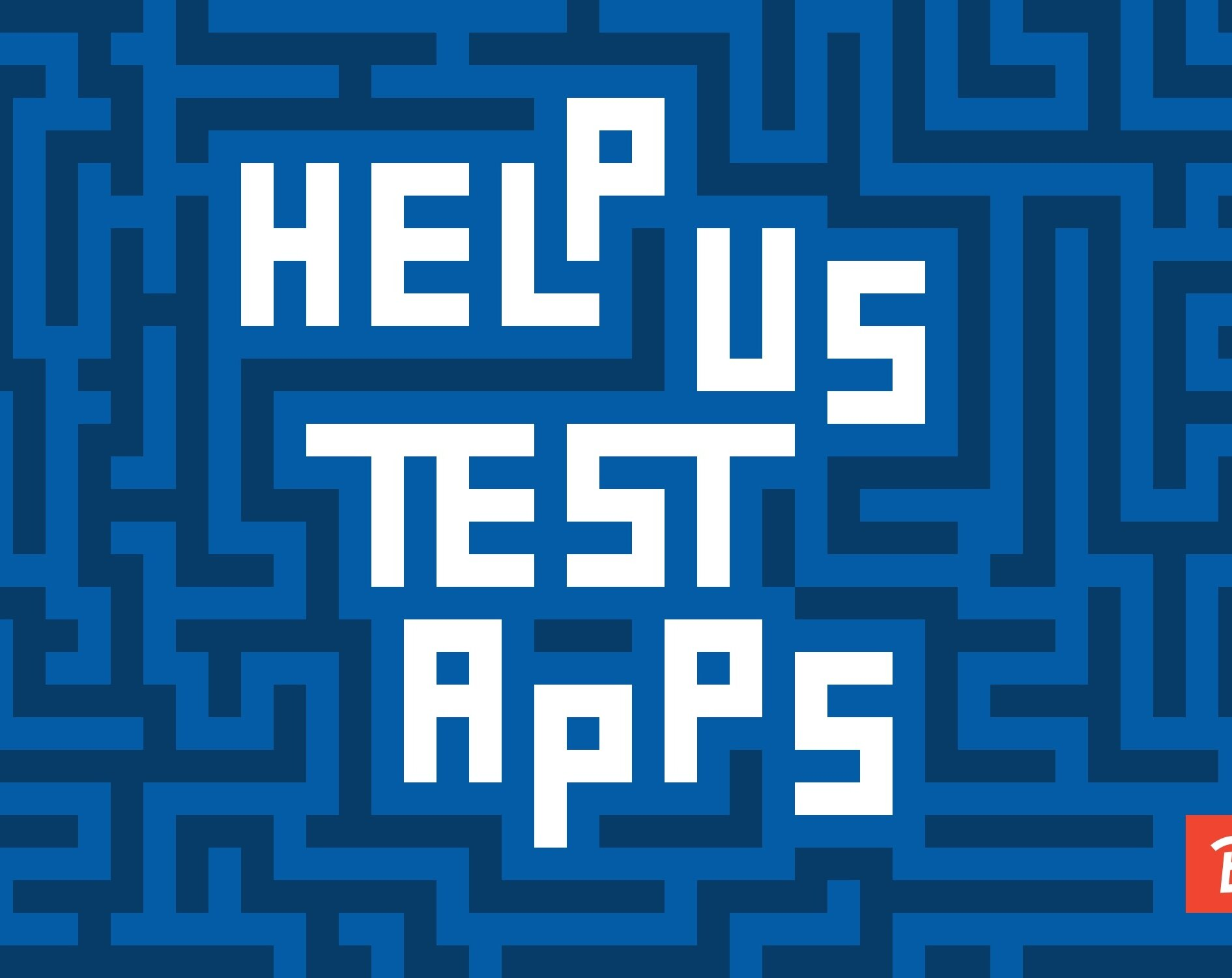Help us test apps rect1