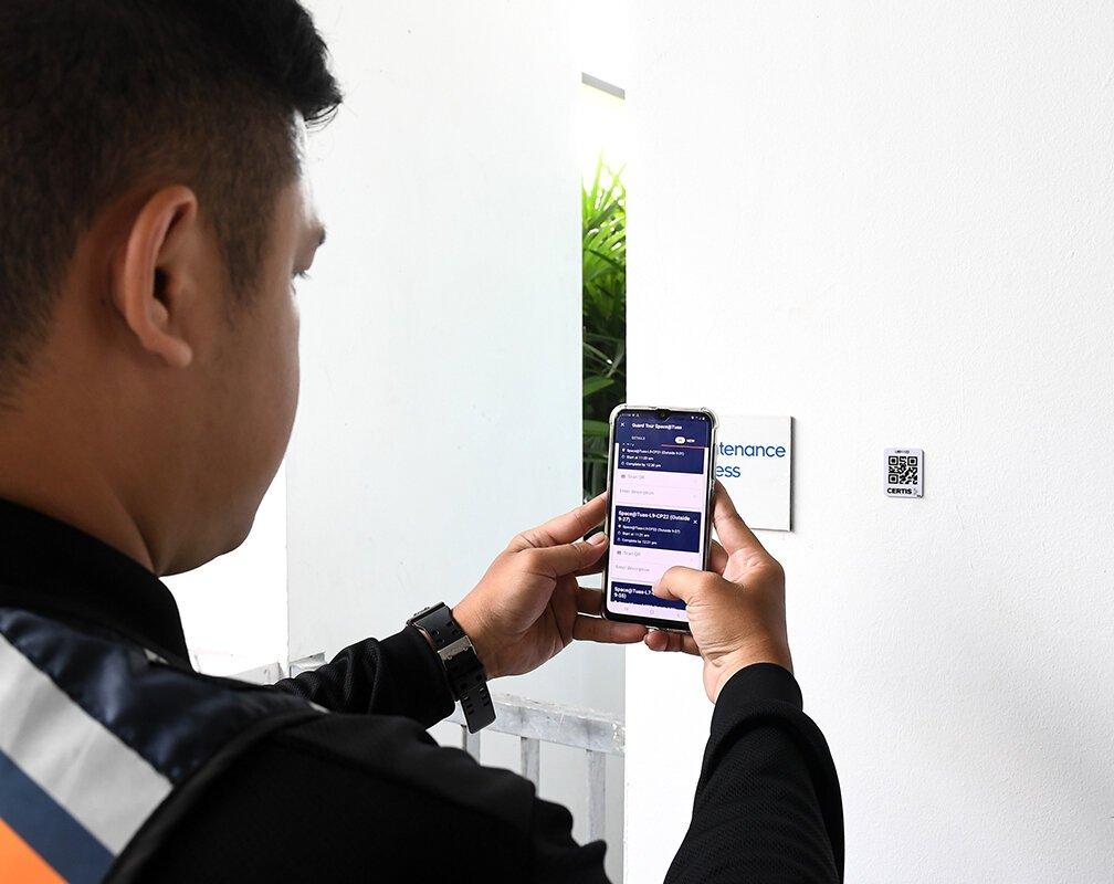 Certis buuuk security mobile app