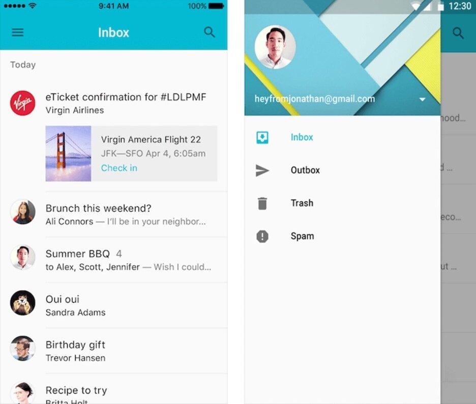 Mobile app nagivation
