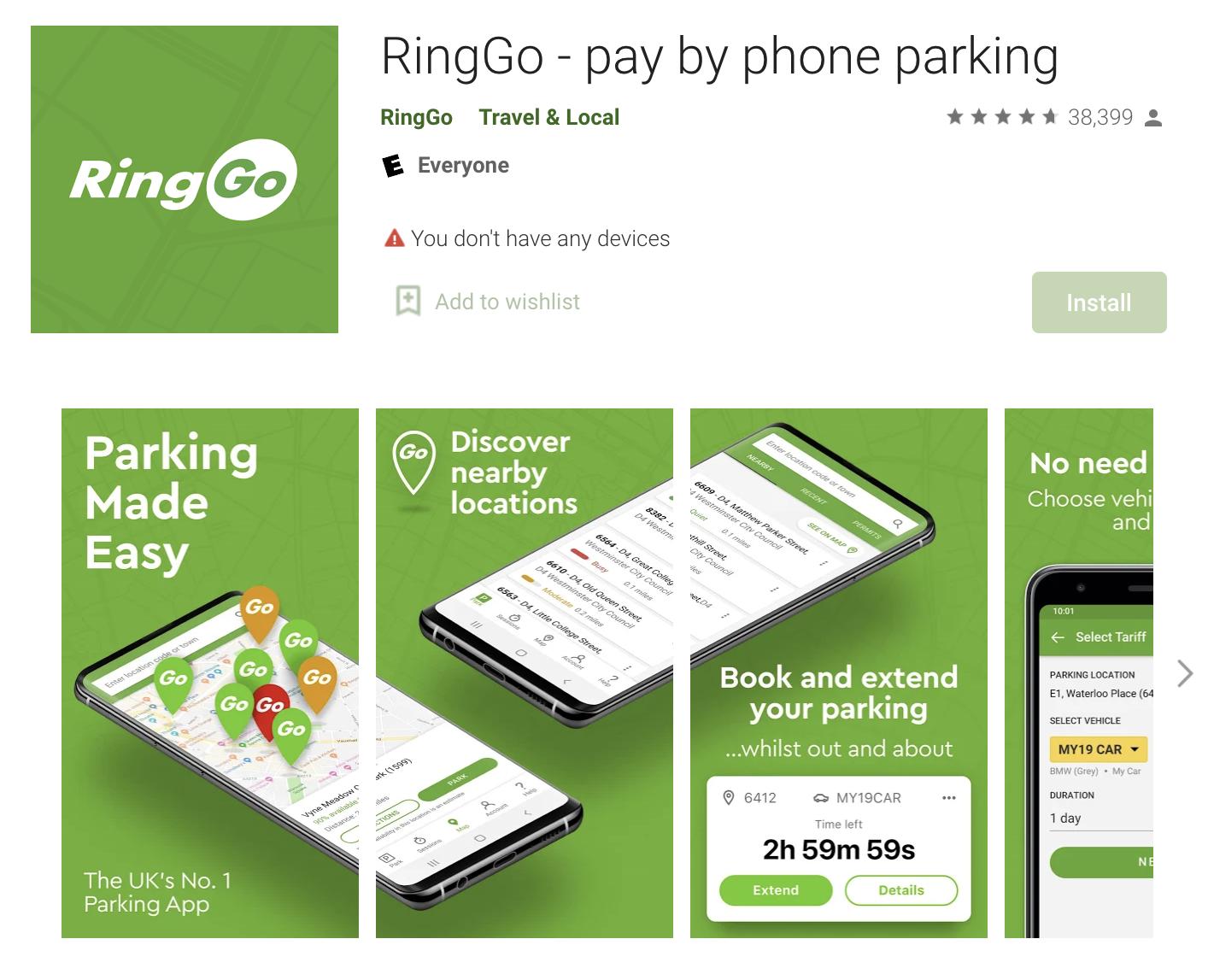 Ringo app
