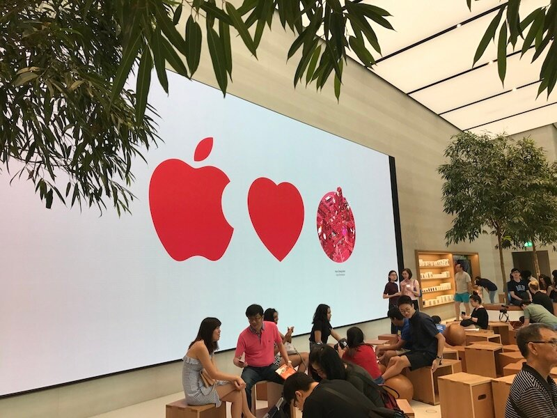 Apple Store 2 9 Jul 2017